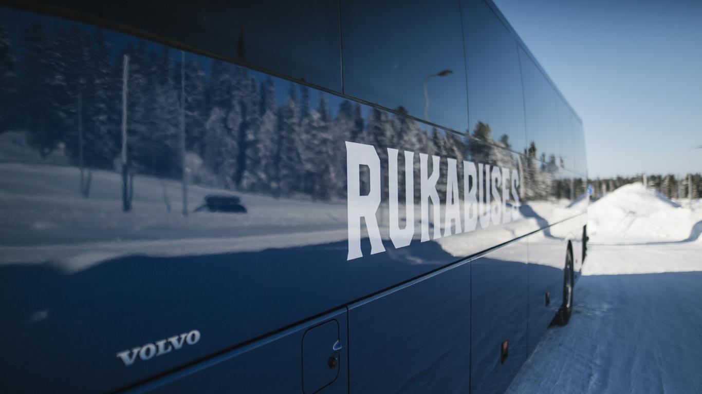 Rukabussit tilausajo Ruka Kuusamo